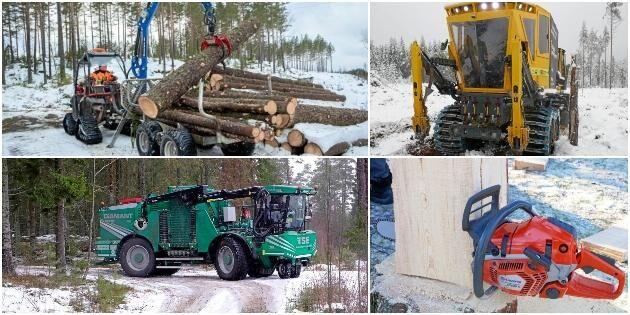 Bildextra: Skogsmaskiner och framsteg