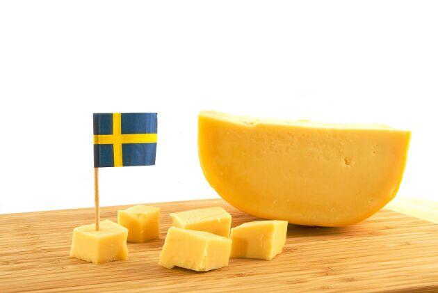 Svensk ost gjord på svensk mjölk är ett både djur- och miljövänligt alternativ till parmesan och grana padano.