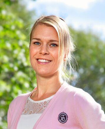 Camilla Backlund, arbetsmiljöexpert på Gröna arbetsgivare.
