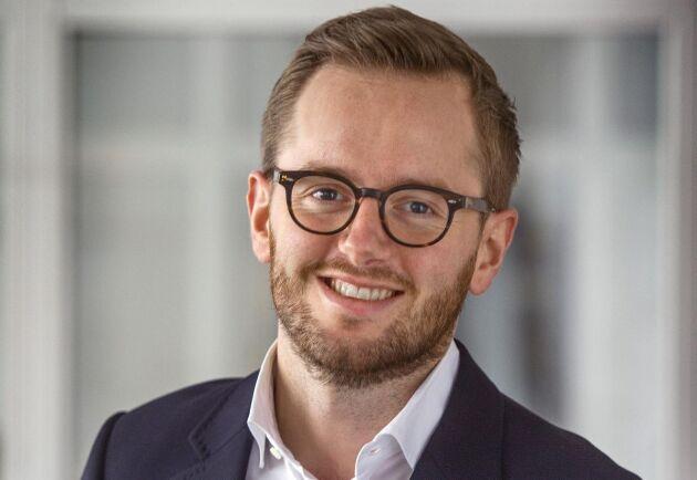 Anders Riis, kommunikationschef Vestas Wind Systems.