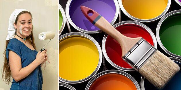 Lands målarskola steg 3: Så gör du när du ska välja färg!