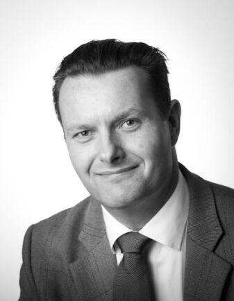 Martin Rosenmejer, vd på växtodlingsföretaget Skabernäs.
