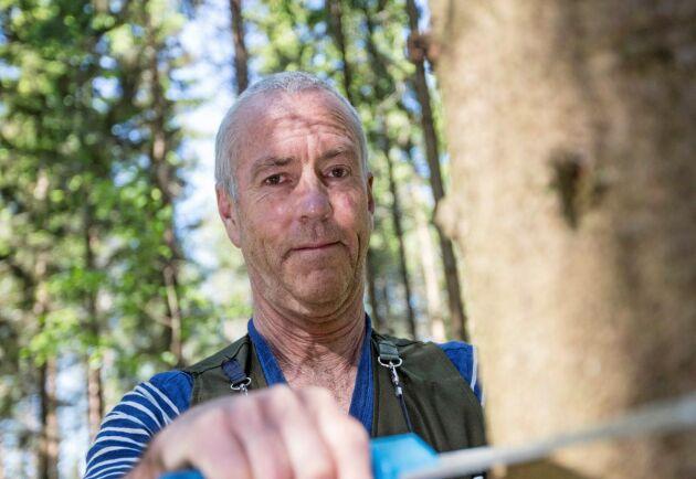 Ut och röj. Nyckeln till lönsamma förstagallringar ligger i ungskogsskötseln, enligt Staffan Jacobson på Skogforsk.