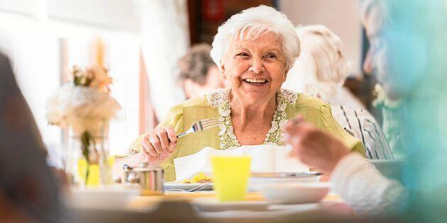 Njutningsmat ska göra äldre starkare!