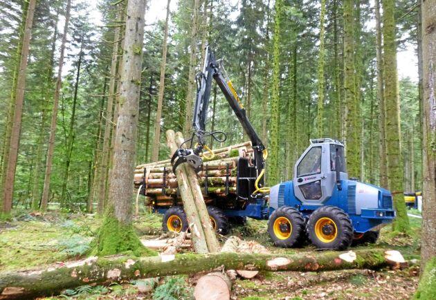 Novotny LVS 720 lastar 7 ton och ska visas på Elmia Wood.
