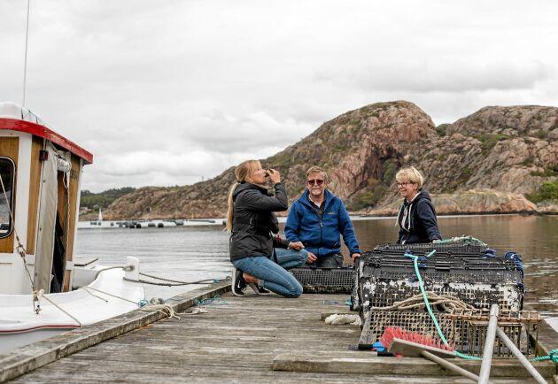 Ostron, musslor och turister är de tre benen i Lars och Maivor Marstones företag.