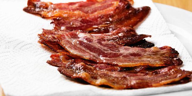 Baconbrist i svenska butiker – kan ta lång tid att åtgärda