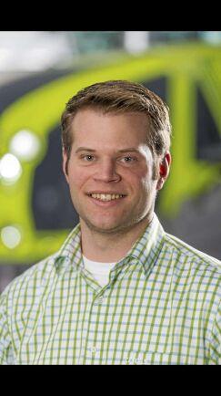 Bernd Grosselohmann, marknadsspecialist för traktorer hos Claas i tyska Harsewinkel.