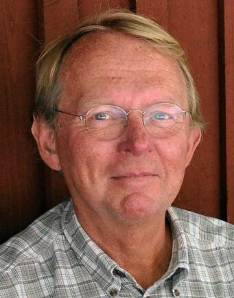 Bertil Ågren, en av styrelseledamöterna i stiftelsen och byalagat på Ingmarsö.