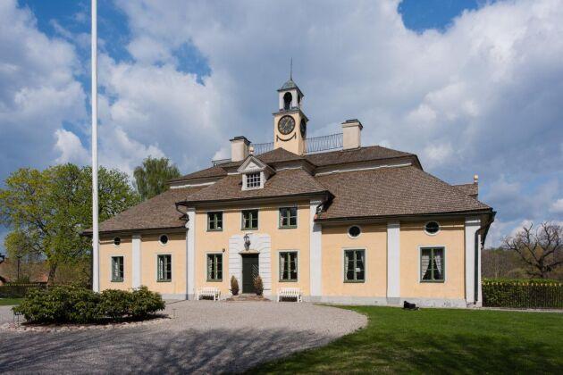 Herrgårdsbyggnaden på Svanå bruk och säteri upprättades på 1670-talet.