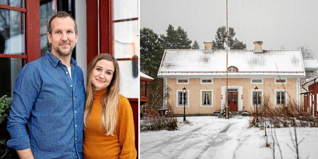 Robert och Åsa återställer bergsmansgården till sin forna prakt