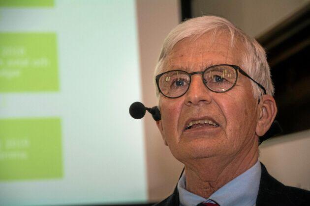 Christer Eliasson blir den sista ordföranden för Hushållningssällskapet Skaraborg inför samgående med Väst och Värmland. Skaraborg är det till medlemsantalet största av de tre sällskapen.