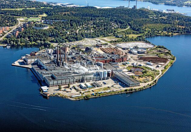 Återvinning av textilier flyttar in på området när SCA slutar tillverka tryckpapper i Ortviken.