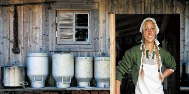 Svenskt osthantverk på frammarsch – Tin gör ost med 350-åriga anor