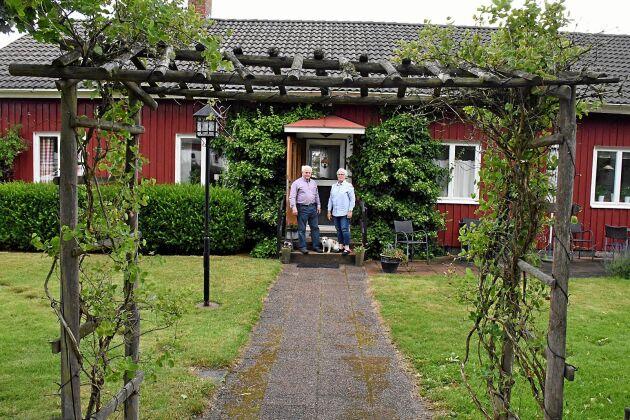 Paret Eliassons Bed & Breakfast har tillsammans med stugan som hyrs ut cirka 1400 gästnätter per år.
