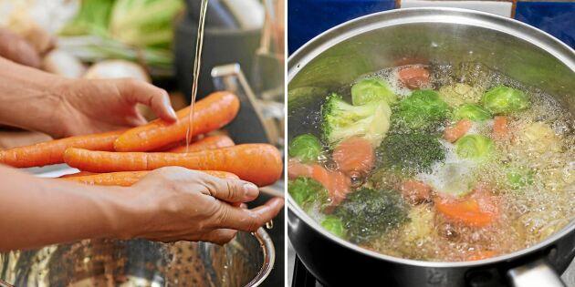 Så ska du tillaga 5 favoritgrönsaker för att behålla näringen