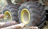 Världens första lågtrycksdäck för skogen