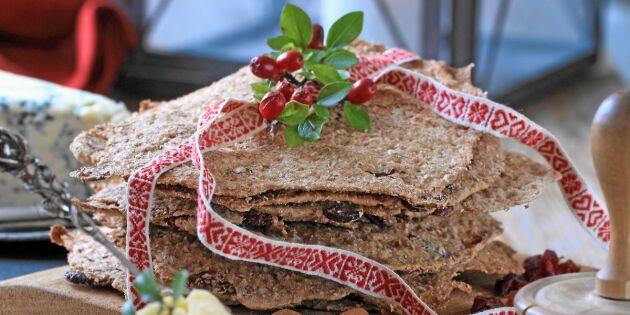 Förbered julen: Vörtkryddat tranbärsknäcke
