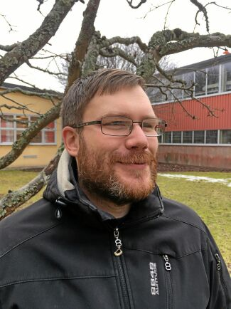 Henrik Olsson är ingenjör och en av forskarna i projektet.