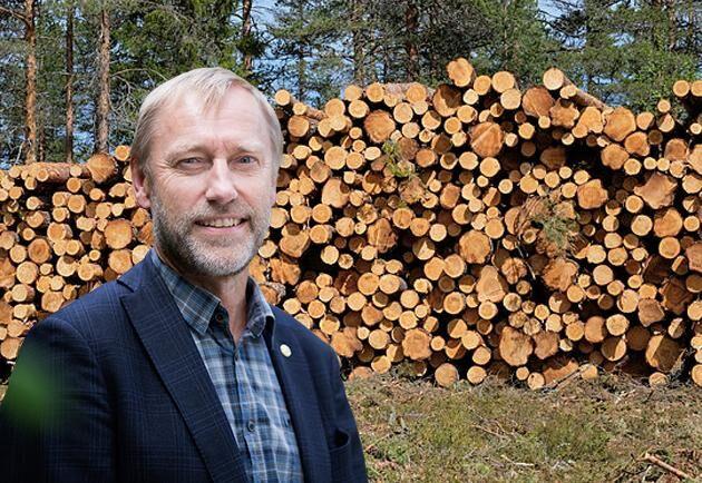 Paul Christensson, ordförande, LRF Skogsägarna.