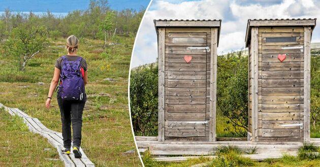 Med fler och fler turister i fjällen ökar också behovet av toaletter.