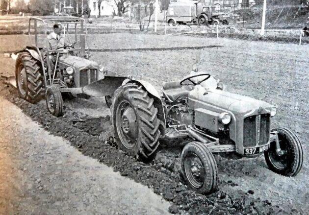 I Lantmannen 1960 fanns denna bild med en radiostyrd Dexta.
