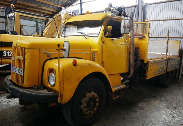 Ett Blocketfynd kallar Robert Aschberg sin Scania L81.