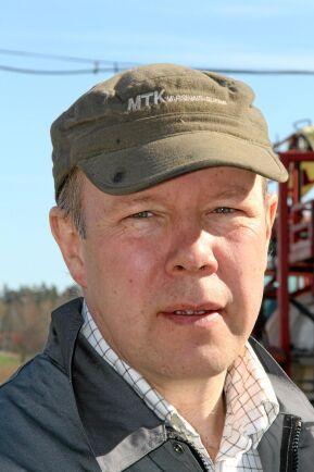 Axel Lagerfelt spannmålsodlare äggproducent Tolefors gård i Östergötland. Lantmannens tävling Maltkornsmästaren 2018.
