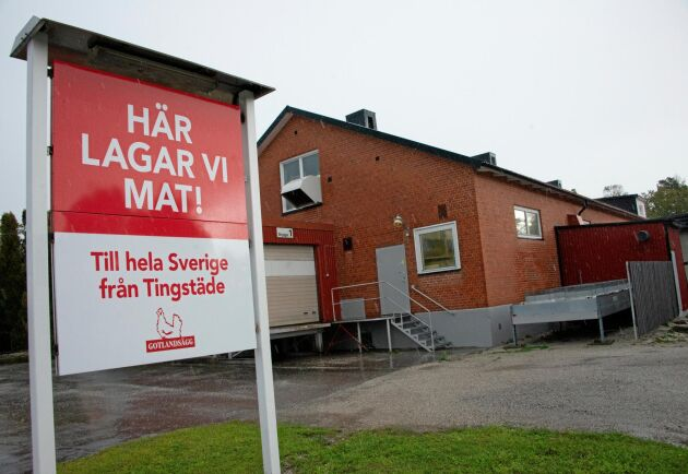 Sedan ett år tillbaka steker Gotlandsägg plättar, pannkakor och raggmunk åt Ica i Tingstäde på norra Gotland. Men lönsamheten drabbas när frakten till fastlandet blir 15 procent dyrare.