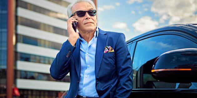 Män med högst inkomst kör bäst - eller?