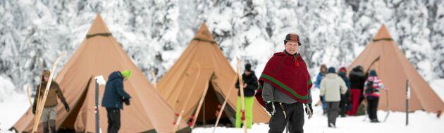 Lennart Pittja är en pionjär inom samisk ekoturism som både är ekonomiskt och miljömässigt hållbar.