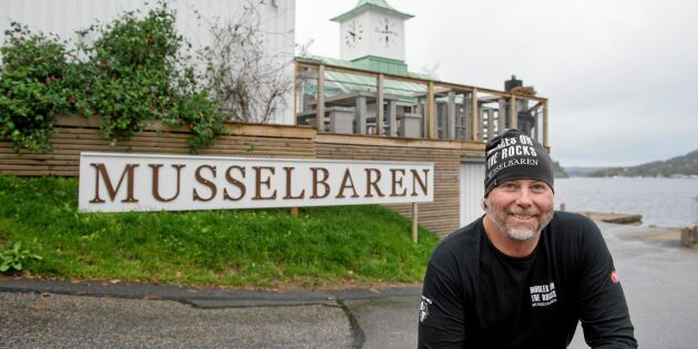 """Janne öppnade musselrestaurang i förfallna klocktornet: """"Det är framtidens mat"""""""