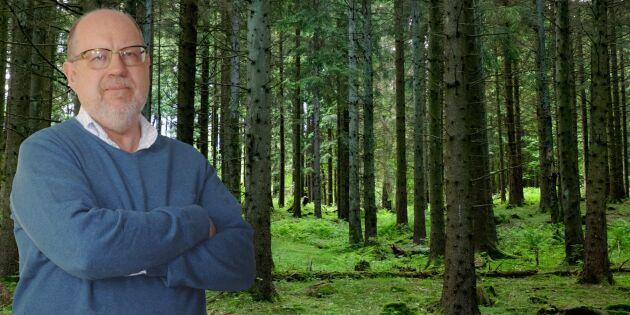 Hög tid att minska statens ägande av skog
