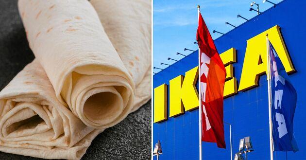 Tunnbrödsrullar ska bli en succé i världen, hoppas Ikea.
