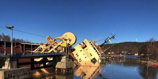 Spannmålsfartyget: Dags för monsterjobbet