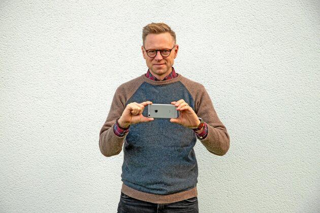Fredrik Almgren är kursledare för utbildningen i digitalt foto.