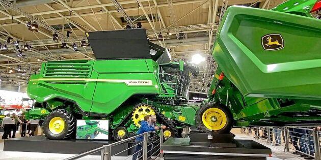 ATL TV: John Deere X9 ska klara 100 ton i timmen