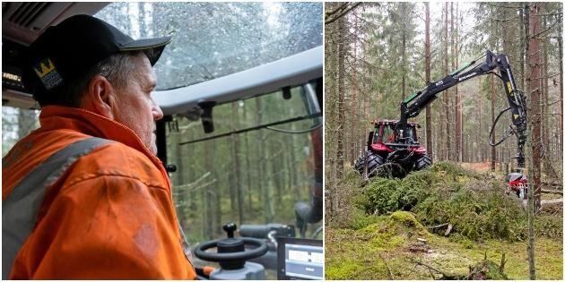 ATL TV: Här sköter traktorn andragallringarna