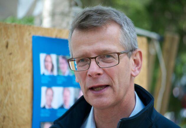 """""""Flera skogsindustriföretag har gjort astronomiska investeringar vilket gagnar skogsägarna på lång sikt"""", säger Johan Freij på Danske Bank."""