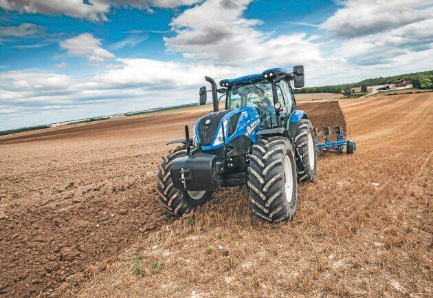 New Holland är en av traktortillverkarna som har börjat titta på vätgas som alternativt bränsle. Närmast lansering från företagets sida ligger dock en traktor som går på biogas.