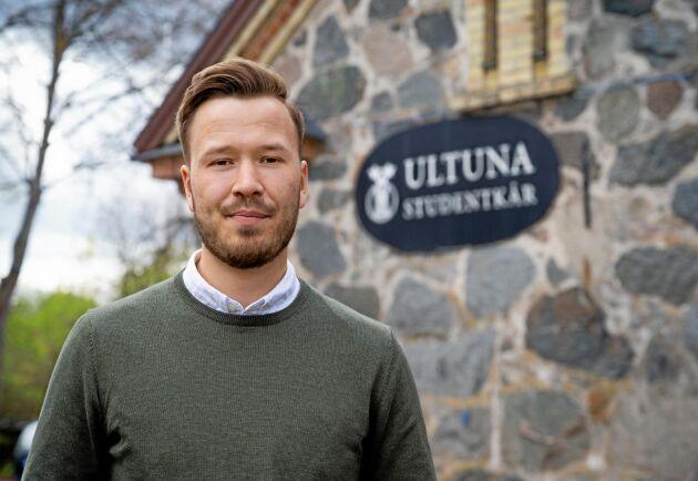 Jakob Nygårds, ordförande i Ultuna studentkår på SLU, är positiv till att examen nu kommer att anpassas efter längden på utbildningarna.