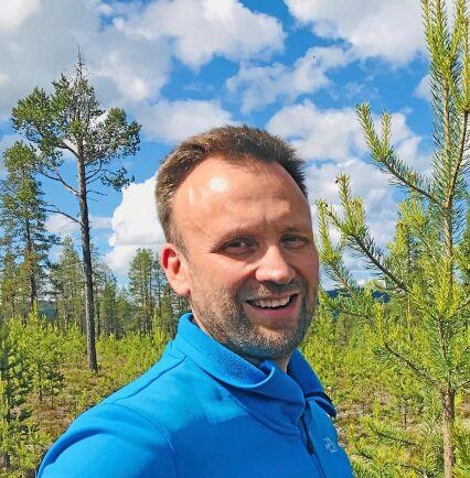 Roger Hällestrand, planeringsledare på Sveaskog i Åsele.