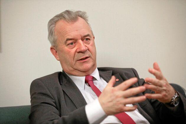 Sven-Erik Bucht (S) lovordar det nystartade tillväxtbolaget i branschen.