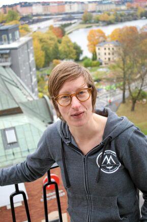 – Jag räknar mig som norrbottning, säger Johanna Mörtberg som bodde sina sju första år i Stockholm, sedan i Luleå till 18 års ålder för att därefter åter flytta till Stockholm.