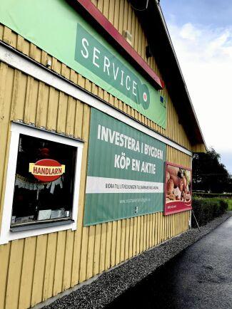 Fler aktieägare i bygdebolaget som bland annat driver livsmedelsbutiken i Oxsätra är alltid välkomna.