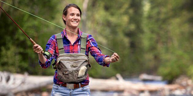 Satsningen – de vill locka fler kvinnor till fritidsfisket