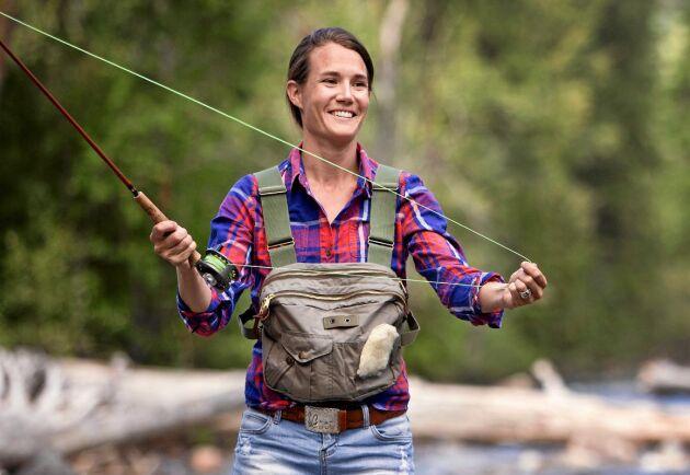 Enligt statistik från Havs- och vattenmyndigheten är i dag ungefär var tredje sportfiskare kvinna.