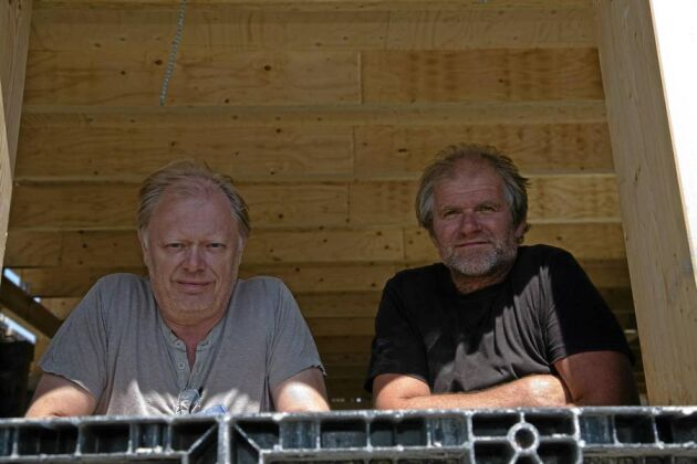 Dag Melkersson och Hans Bulthuis.