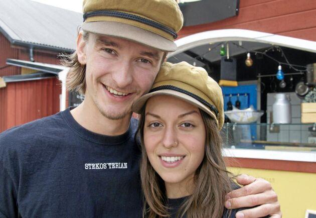 Filip Larsson och Sara Runsten har bestämt att deras stekost i framtiden ska gå under namnet Filliostus.