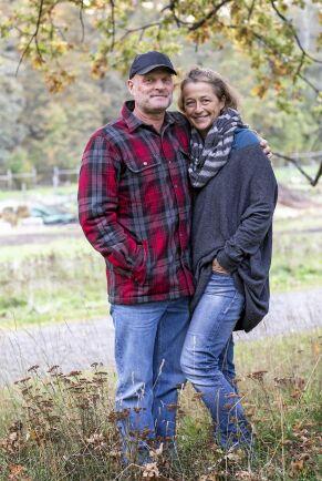Johnny och Ina Andersson på Osprey Farm & Studio.